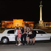 leánybúcsú limuzinnal